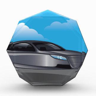 Hover Car vector Acrylic Award