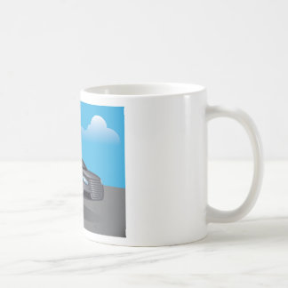 Hover Car vector Coffee Mug
