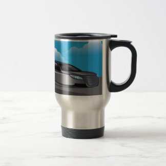 Hover Car vector Travel Mug
