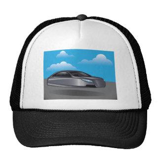 Hover Car vector Trucker Hat