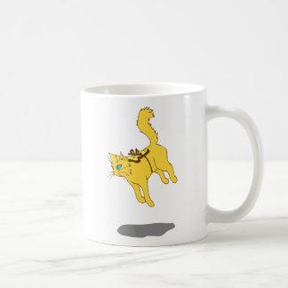 Hover Cat Coffee Mug