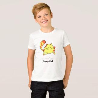 Hover Cat Fun Cartoon Cat Shirt for Kids