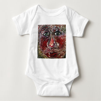 Hover Face Baby Bodysuit