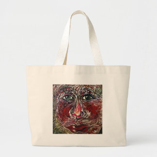 Hover Face Large Tote Bag