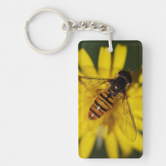 Hover Fly Photo Keychain