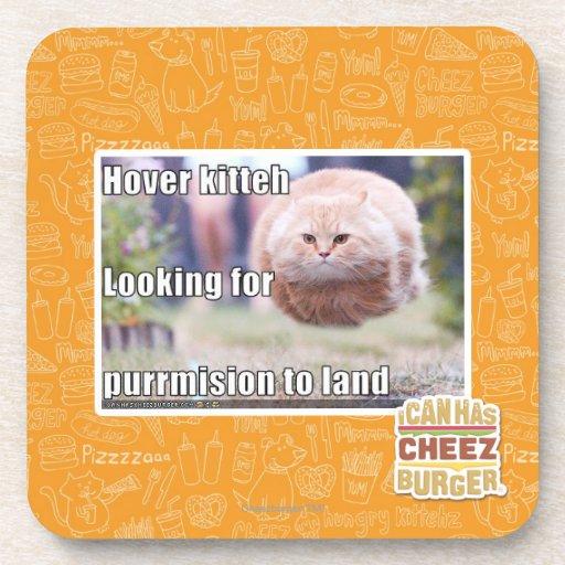Hover kitteh coaster