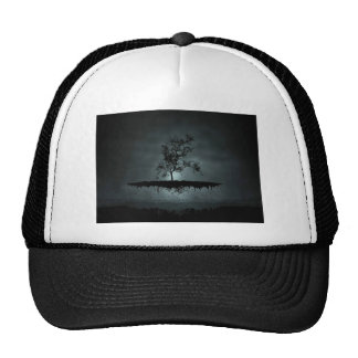 Hover tree trucker hat
