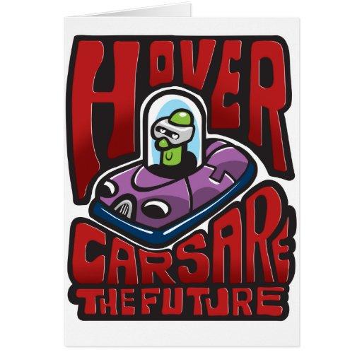 Hovercars es el futuro tarjeta