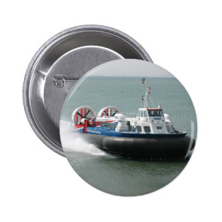 Hovercraft (7343) Pin/Badge 2 Inch Round Button