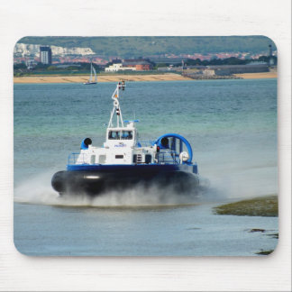Hovercraft arriving at Ryde Mouse Pad