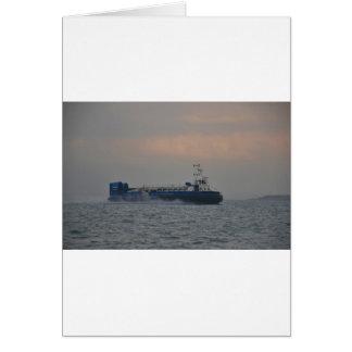 Hovercraft At Dawn Card