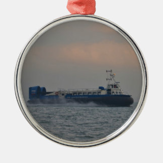Hovercraft At Dawn Metal Ornament