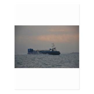 Hovercraft At Dawn Postcard