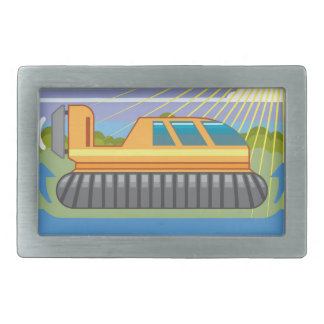 Hovercraft Belt Buckle