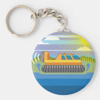 Hovercraft Keychain