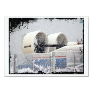 Hovercraft Propellors in Snow card