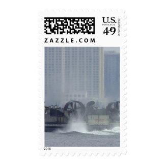 Hovercraft Ship Postage