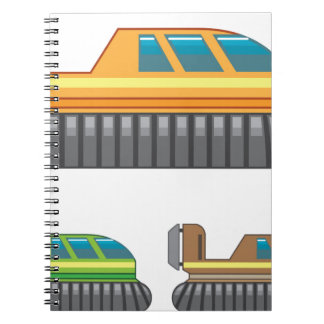 Hovercraft Spiral Notebook