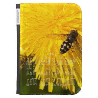 Hoverflies on Dandelions; 2013 Calendar Kindle Keyboard Covers