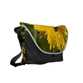 Hoverflies on Dandelions Commuter Bag