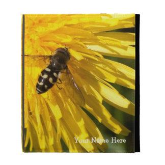 Hoverflies on Dandelions; Customizable iPad Case