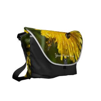 Hoverflies on Dandelions; Customizable Commuter Bag