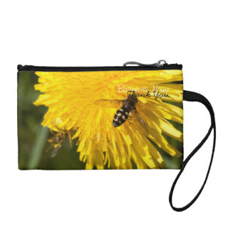 Hoverflies on Dandelions; Promotional Coin Wallet