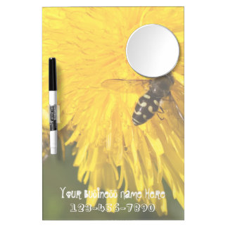 Hoverflies on Dandelions; Promotional Dry-Erase Whiteboards