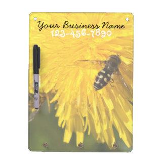 Hoverflies on Dandelions; Promotional Dry-Erase Boards