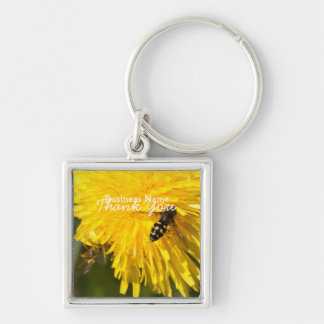Hoverflies on Dandelions; Promotional Keychain