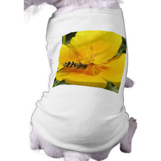Hoverfly and Flower Dog Clothing