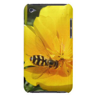 Hoverfly and Flower iPod Case