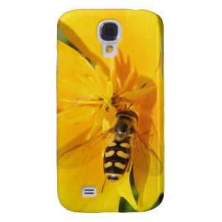 Hoverfly and Flower  Samsung Galaxy S4 Case