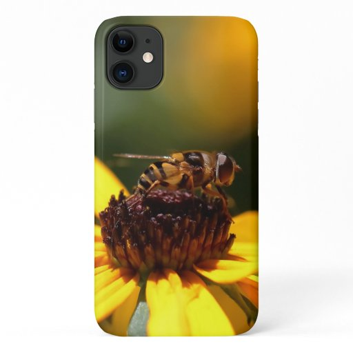 Hoverfly, iPhone case. iPhone 11 Case