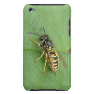 Hoverfly on a Leaf  Barely There iPod Cover