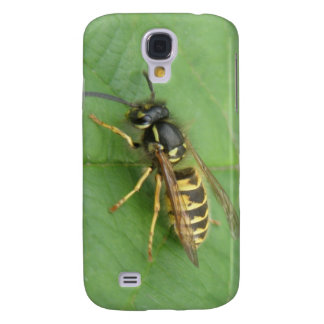 Hoverfly on a Leaf  Galaxy S4 Cover