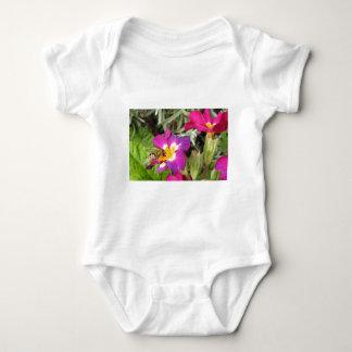 hoverfly resting baby bodysuit
