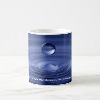 Hovering Blue Water Drop Mug