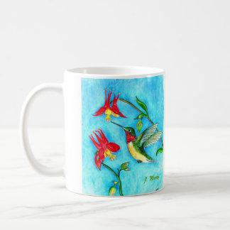 Hovering Hummer Coffee Mug