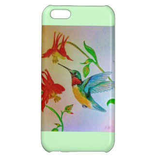 Hovering Hummer iPhone 5C Cases