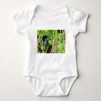 Hovering Hummingbird Blur Baby Bodysuit