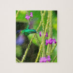 Hovering Hummingbird Blur Jigsaw Puzzles