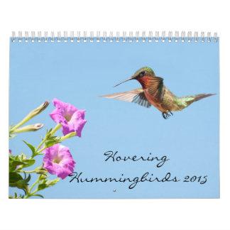 Hovering Hummingbirds 2015 Calendar