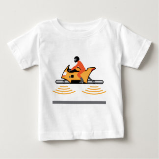 Hovering Motorcycle Baby T-Shirt