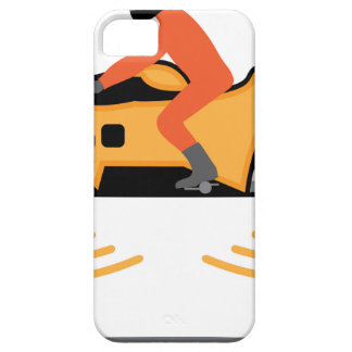 Hovering Motorcycle iPhone SE/5/5s Case