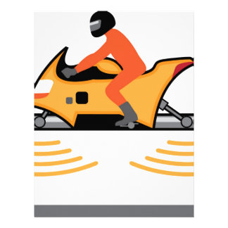 Hovering Motorcycle Letterhead