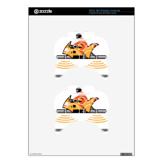 Hovering Motorcycle Xbox 360 Controller Decal