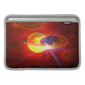 Hovering UFOs MacBook Air Sleeves