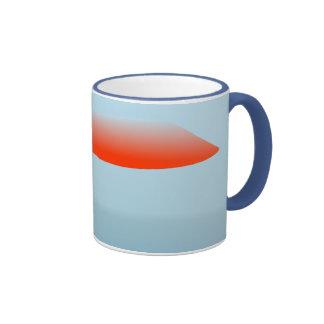 Hovering UFOs Ringer Mug