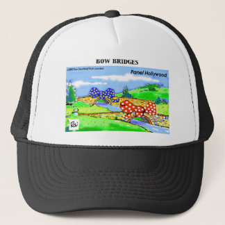 How 2 Wrap A Bridge As A Gift Funny Gifts & Tees Trucker Hat